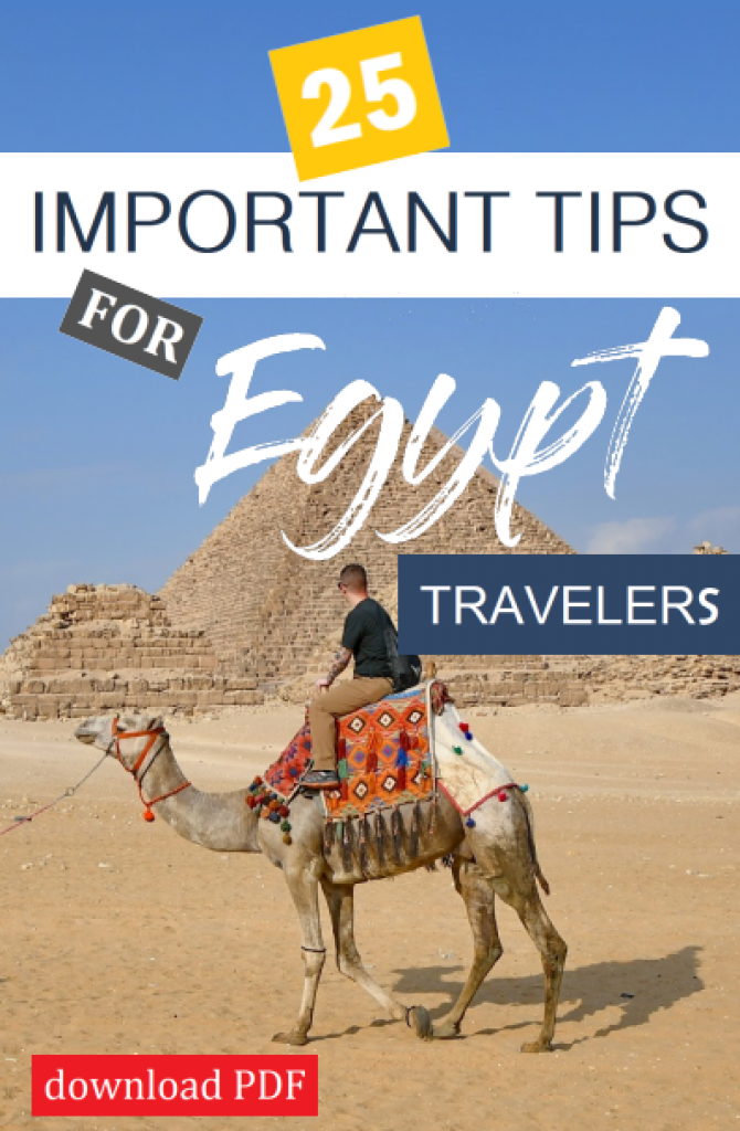 Important Tips for Egypt Travelers